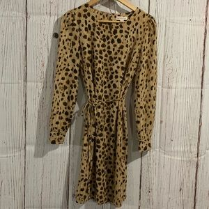 Leopard dress size S